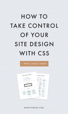 Own Your Site Design: An Intro to CSS for Bloggers