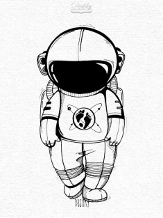 The Martian – Sticker illustrations