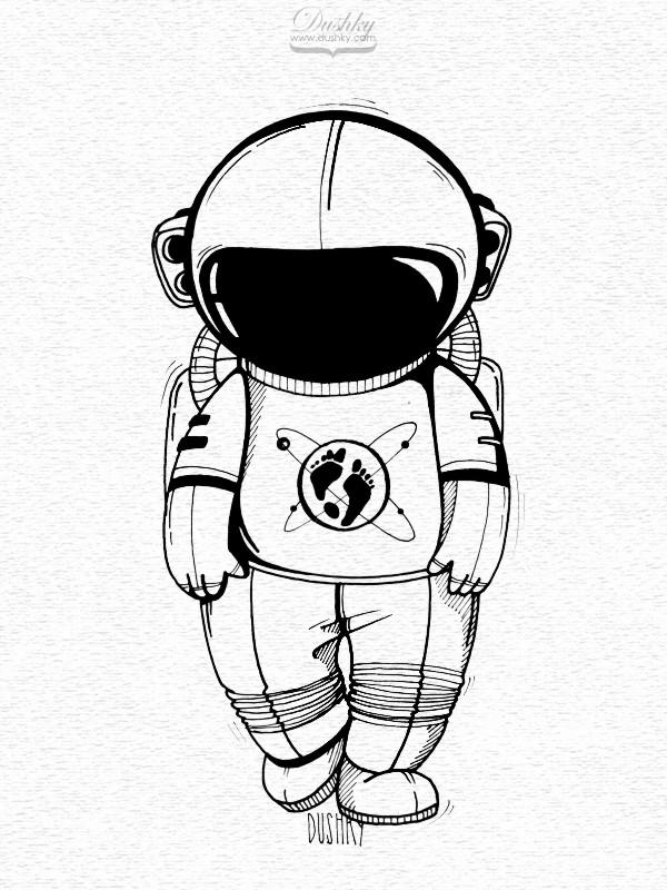 The Martian – Sticker illustrations