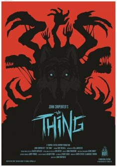 John Carpenter's The Thing – Movie Poster