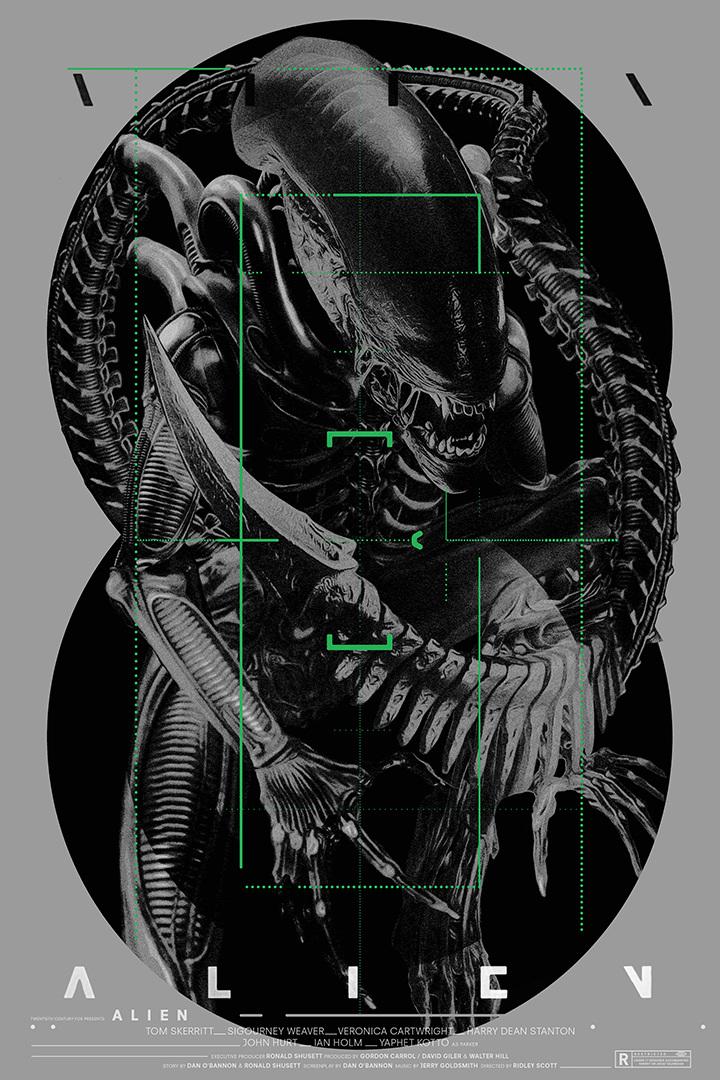 Alien – Poster Design