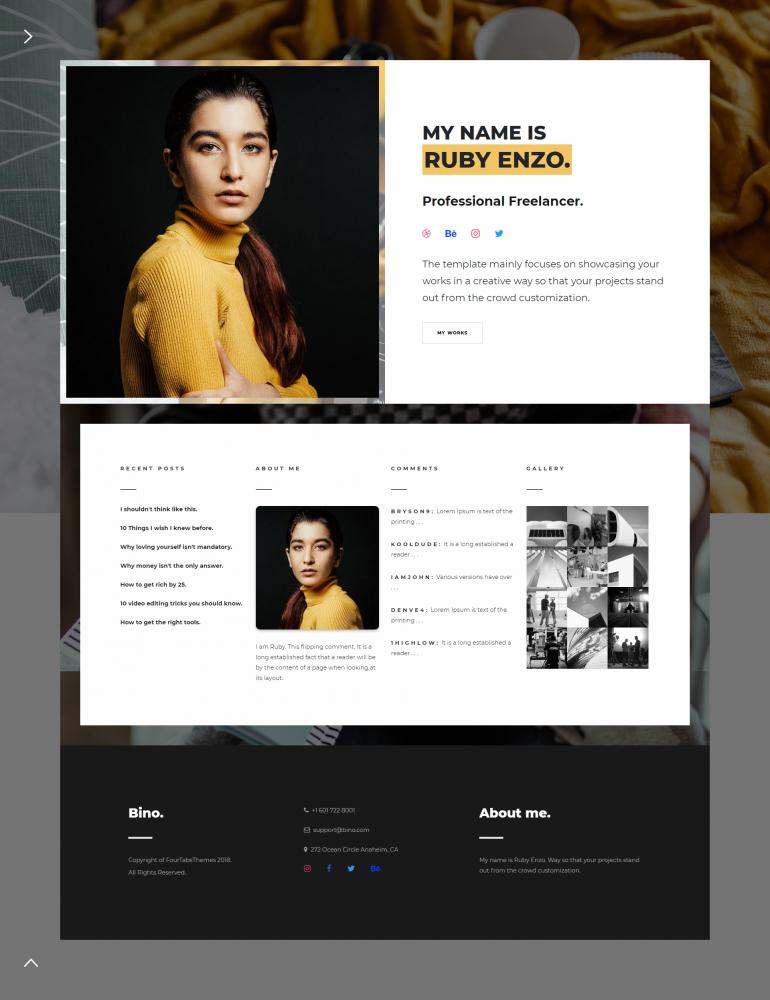 Bino – Freelancer