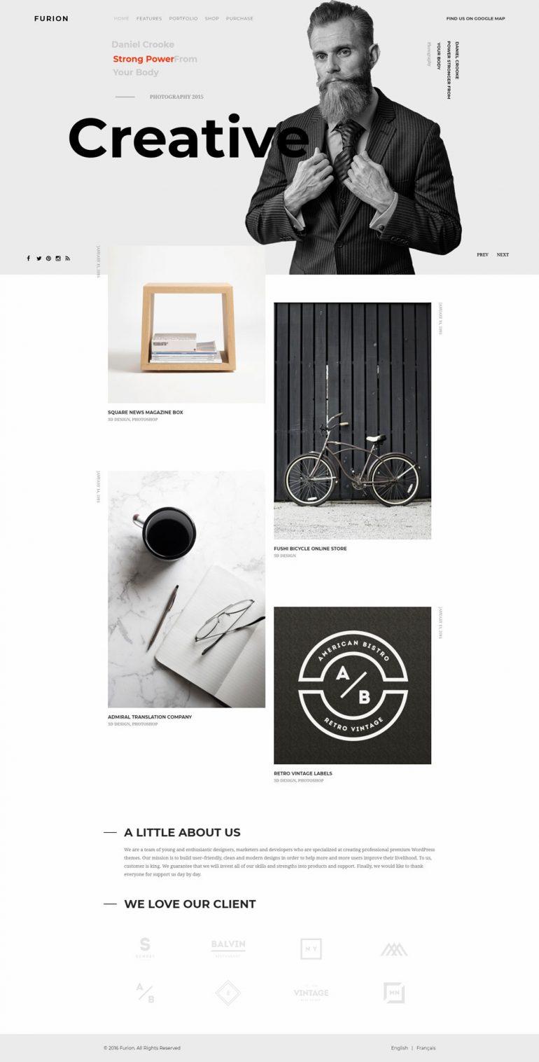 Furion – Creative Blog & Portfolio