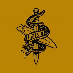 District Surf logo by Lincoln Design Co.