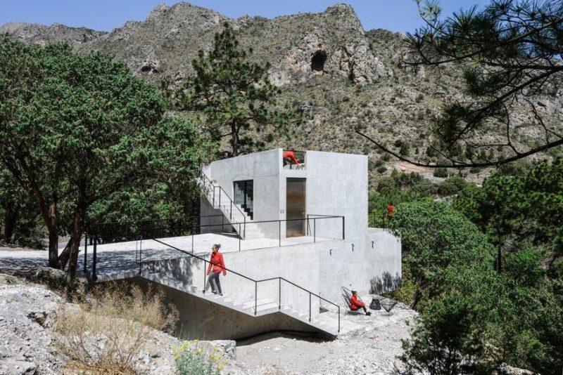 Minimalist Mexico Home with Cool, Concrete Interior