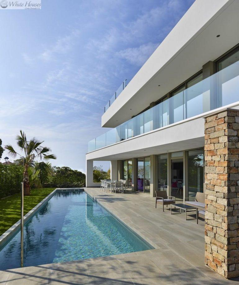 Modern Italian Designer Villa Close to Cambrils Promenade: House V&O