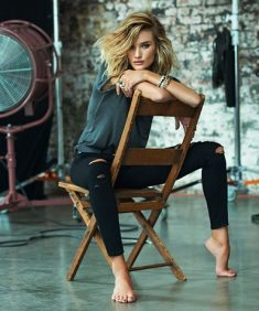 Paige Denim Rosie Huntington Whiteley Lookbook