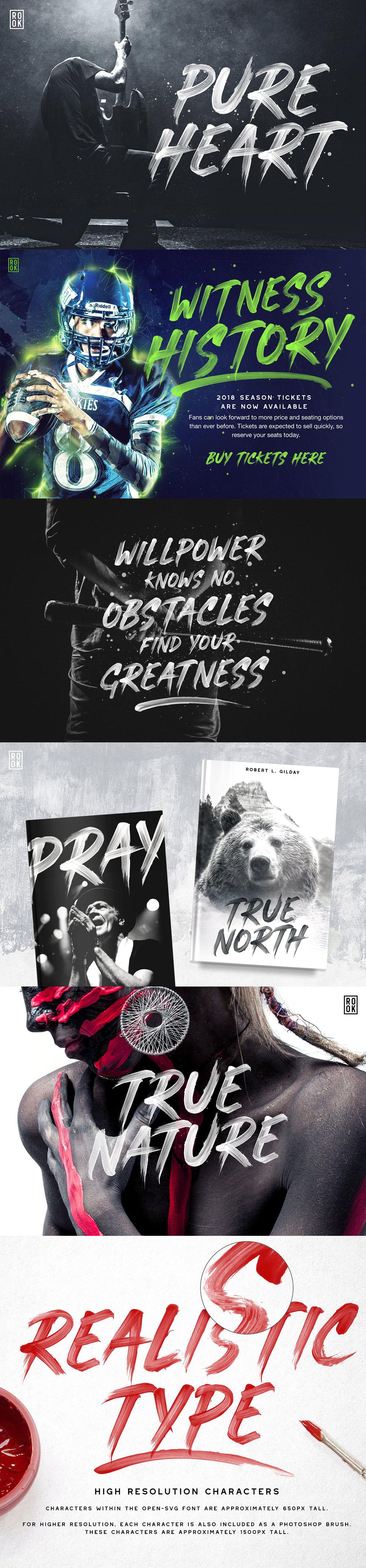 Typography on Inspirationde