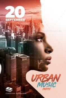 Urban Poster Design