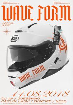 Wave Form poster 2018