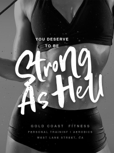 You Deserve to be Strong as Hell