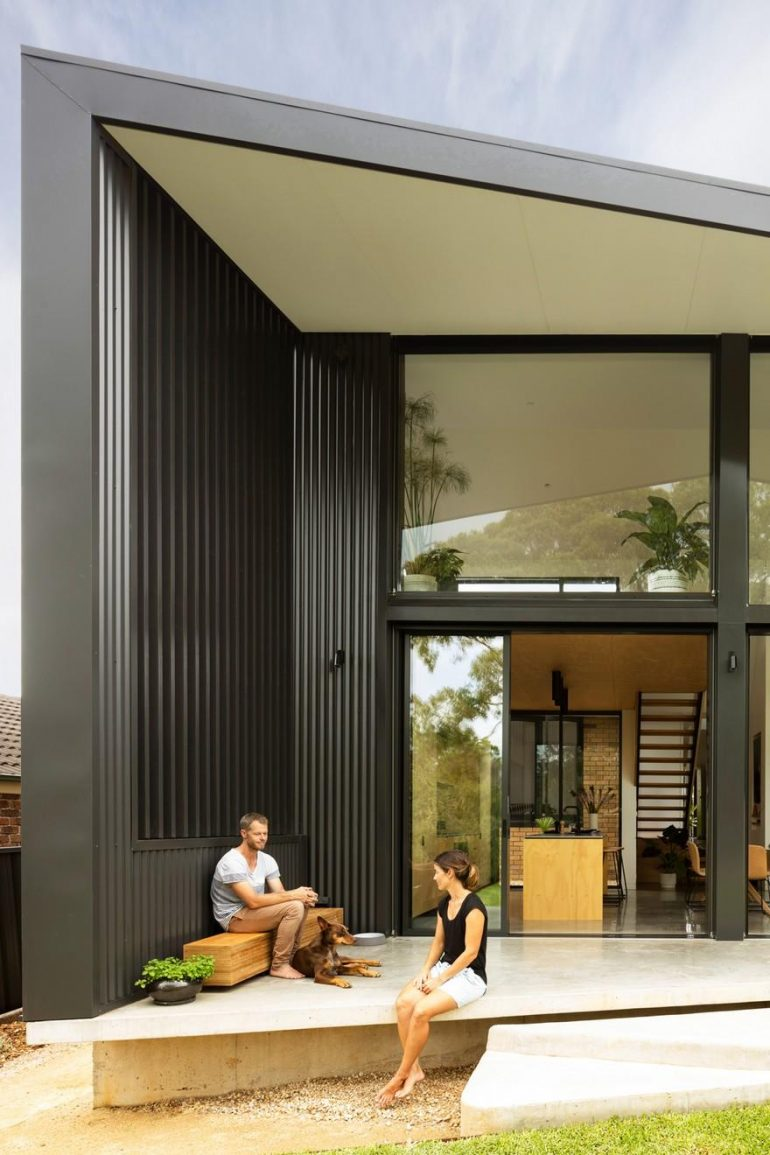 Contemporary New Addition Which Provides Perfect Living Spaces