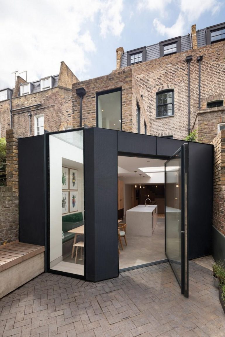 Tired Georgian Terrace Transformed into a Modern Home Full of Character