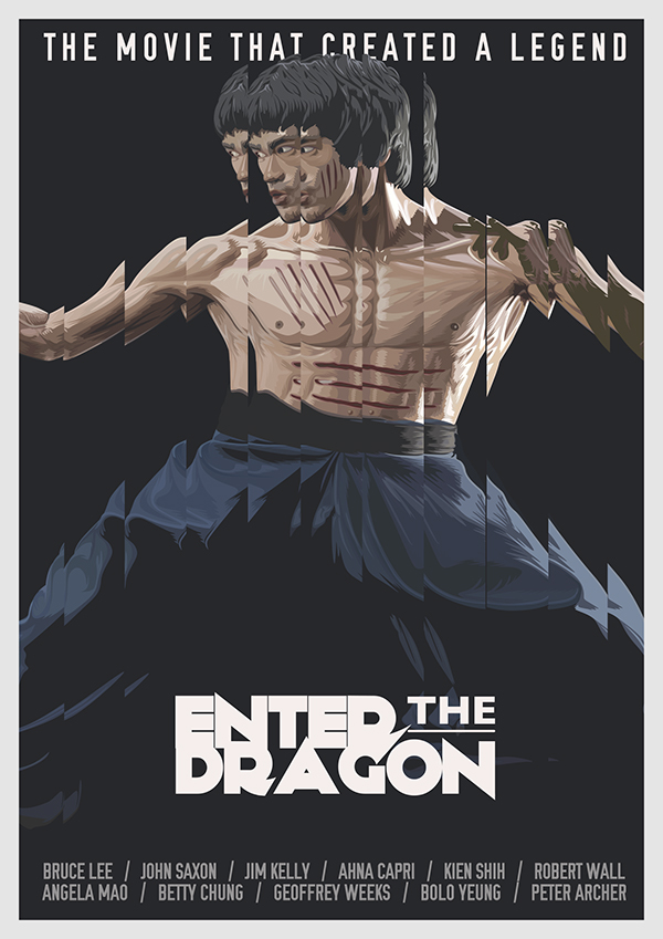 ENTER THE DRAGON / Lithographic Print