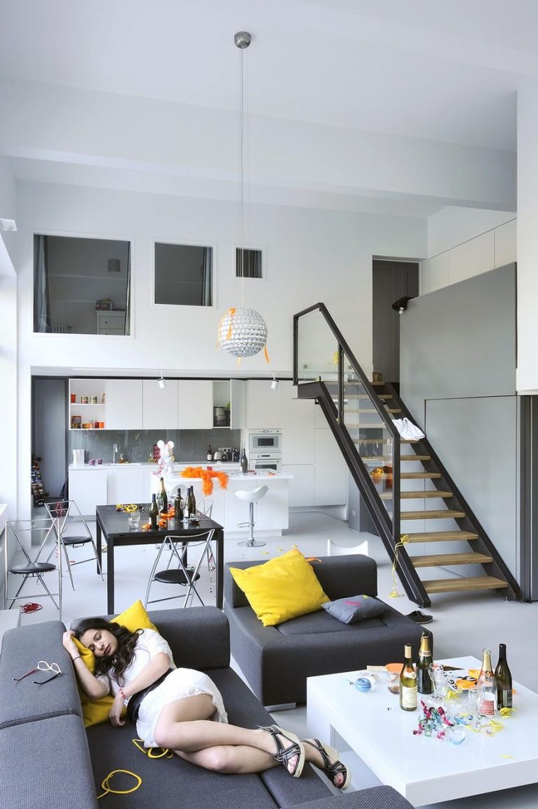 Loft Conversion and Renovation with Efficient Use of Space