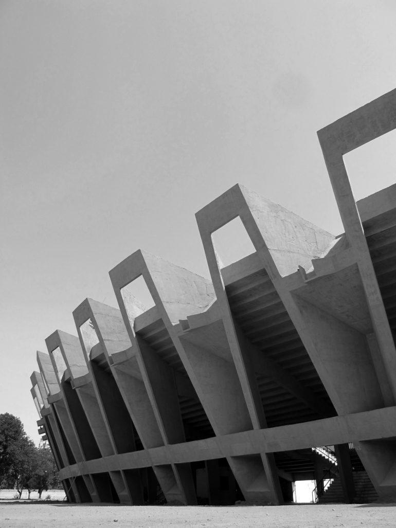 Charles Correa   Sardar Vallabhbhai Patel Stadium, 1965 Ahmedabad.