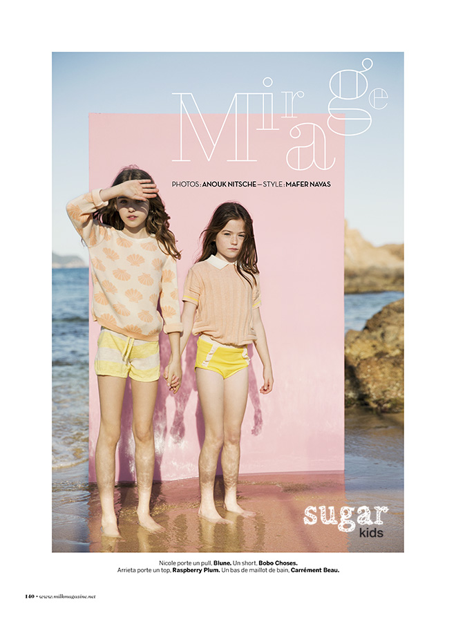 Sugar Kids for Milk Magazine by Anouk Nitsche