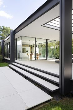 Contemporary Steel Extension Providing Open Living Space
