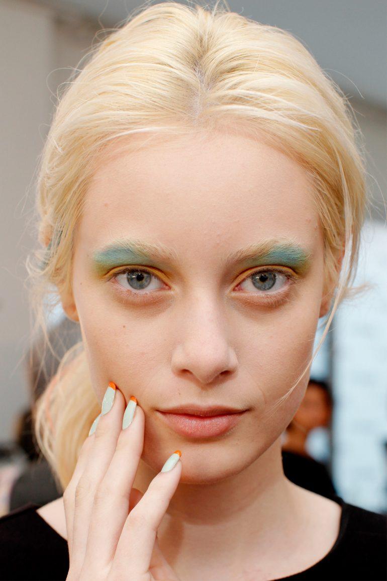 Fashion Week Peter Som Makeup