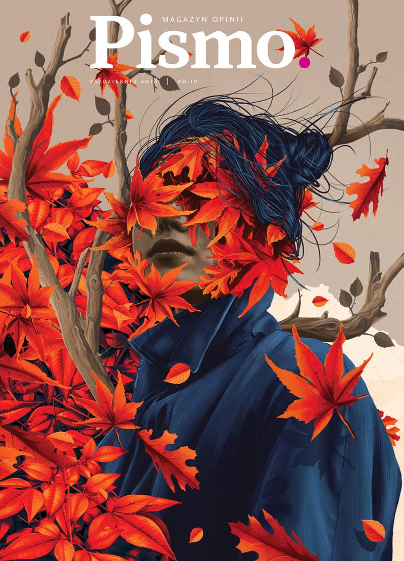 Pismo Magazine cover illustration, October issue, 2018
