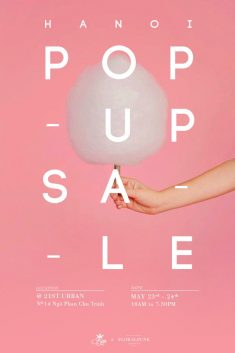 POP UP SALE WEEKEND