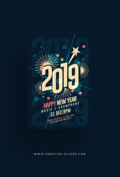 New Year Graphic Design