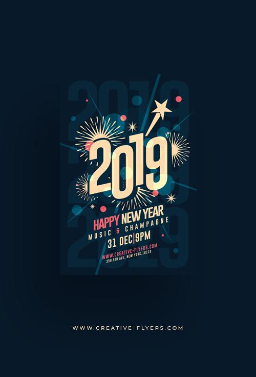 New Year Graphic Design