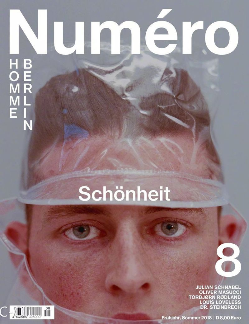 Numero Homme Berlin Spring/Summer 2018 Covers (Numero Homme Berlin)