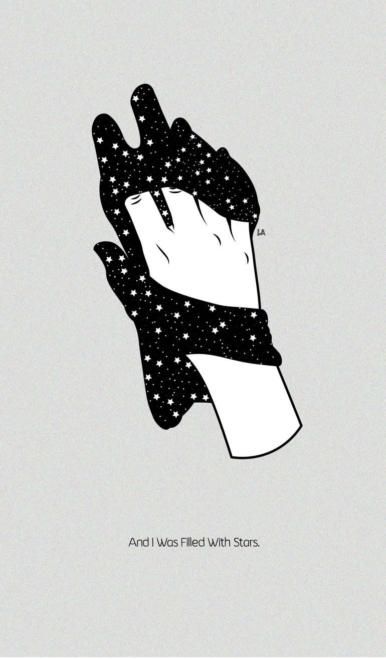 And i was filled with stars