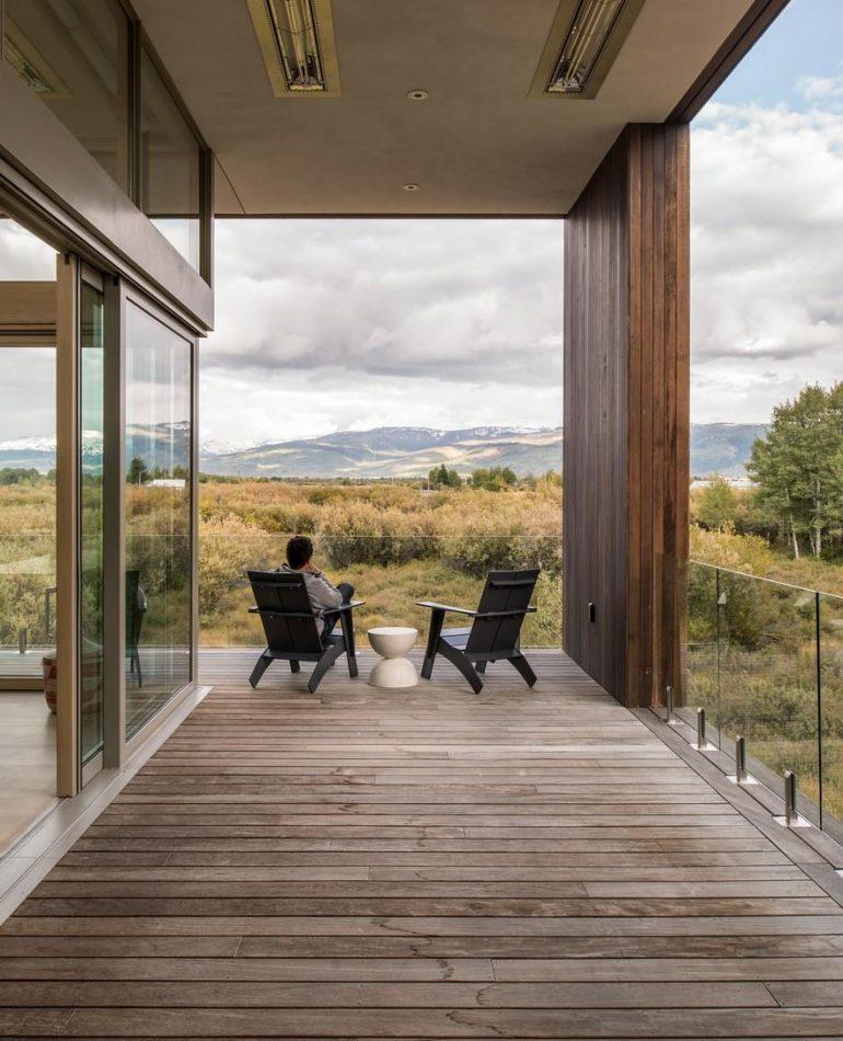 Teton Retreat by RO   ROCKETT DESIGN