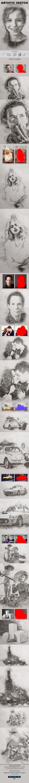 Artistic Sketch Photoshop Action by Ibragimov