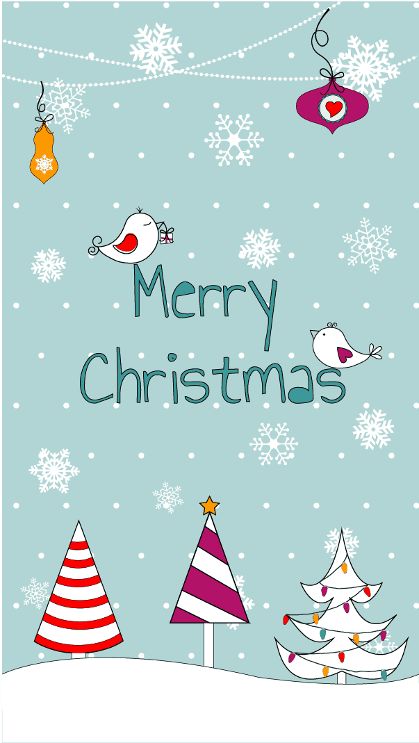 Free Christmas wallpaper to dress your phone in holiday cheer