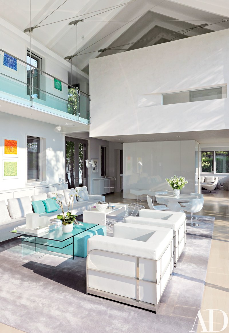 Lux Home Double-height Living Room