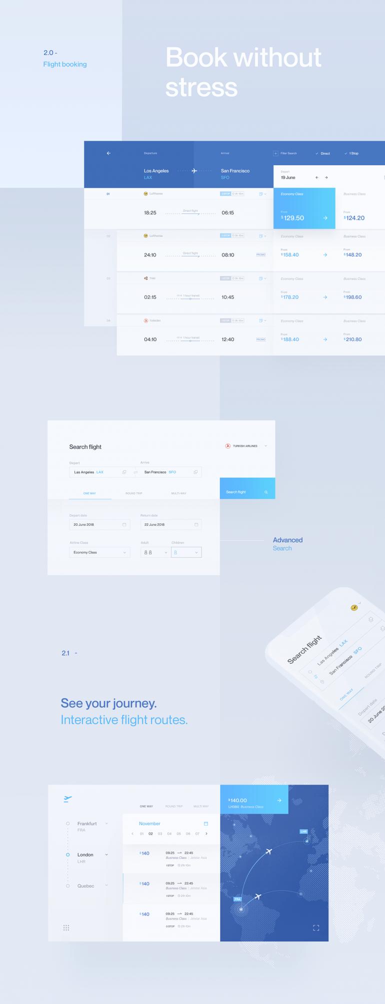 Aero – Airline Flight Booking UI/UX