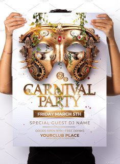 Carnival Party Posters