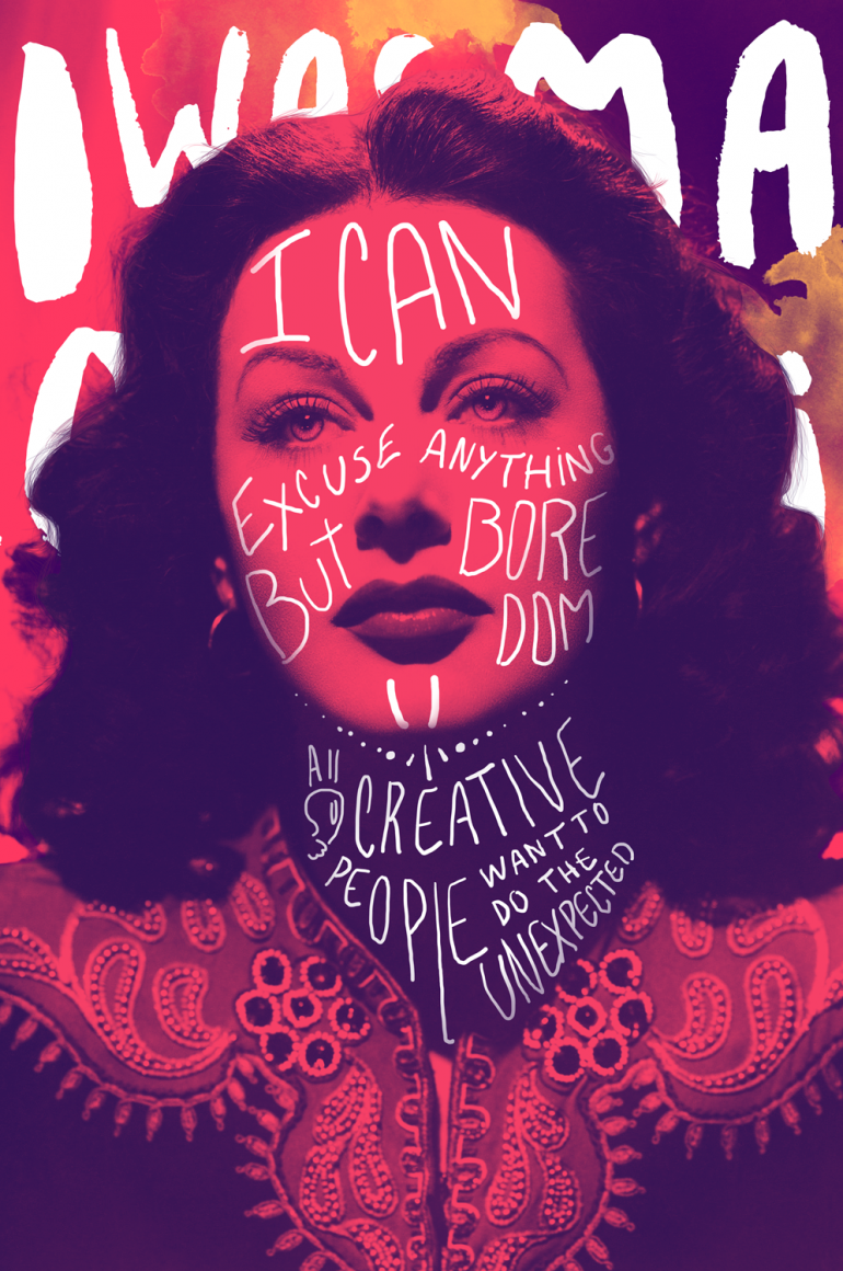 Hedy Lamarr – Colorful Souls