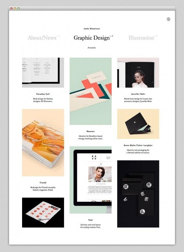 Graphic Designer Website