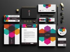 Media Company Stationery