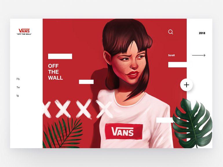 Vans – Concept Illustration Design by Leo Natsume