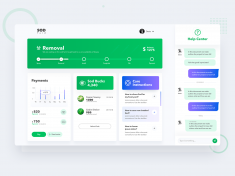 Interface UI For Sod Delivery Company