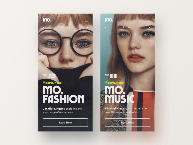 Mo. Mobile Art Direction