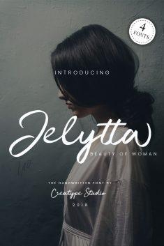 Jelytta Handwritten – 4 Elegant Font