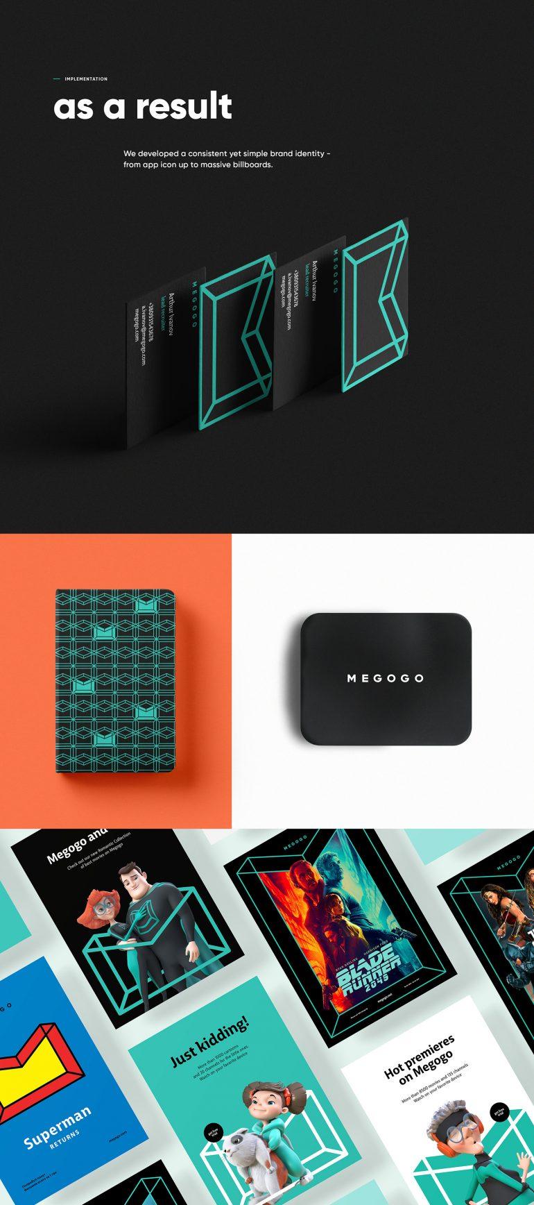Megogo Brand Identity
