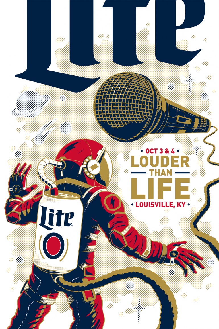 Miller Lite Posters 2016
