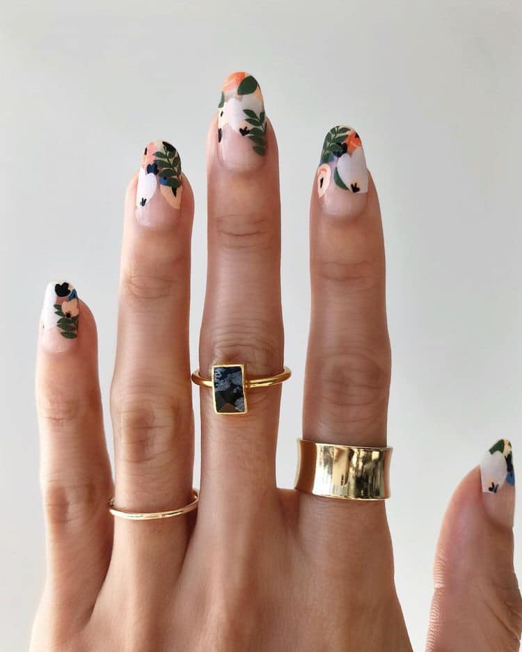 Nail art by Michelle Lee