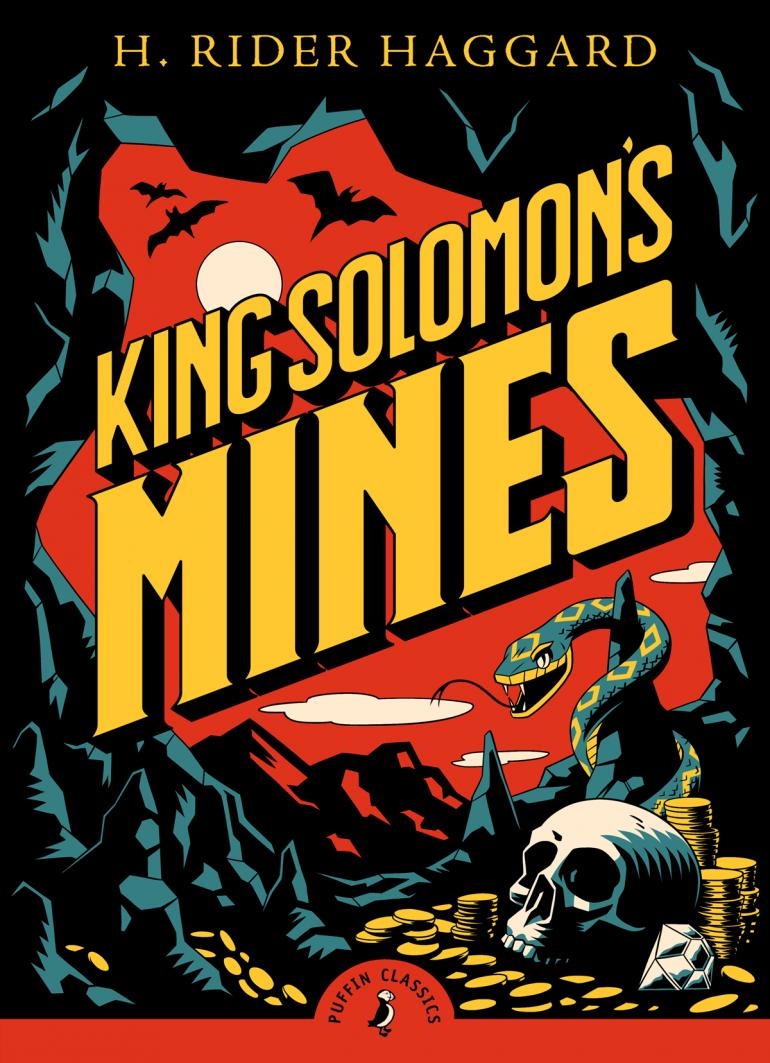 Puffin Classics 'King Solomon's Mine' Book Cover