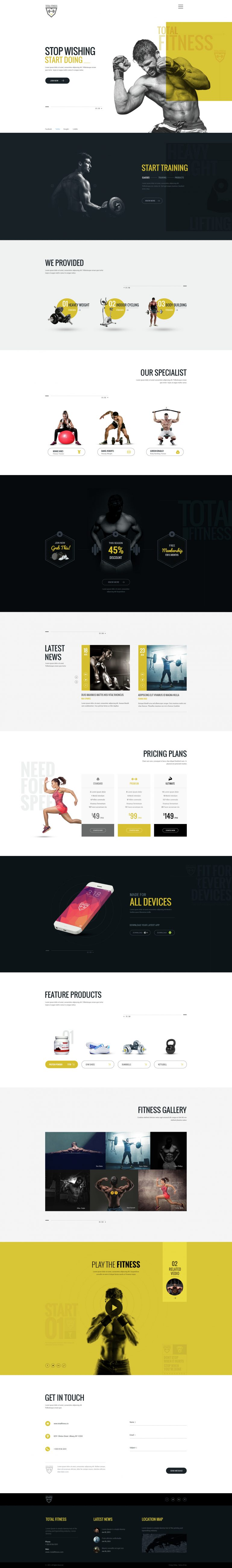 Total Fitness – All in One Fitness