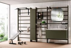 Home Gym & Bathroom by Scavolini