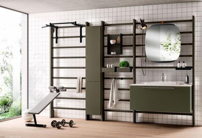 Home Gym & Bathroom by Scavolini