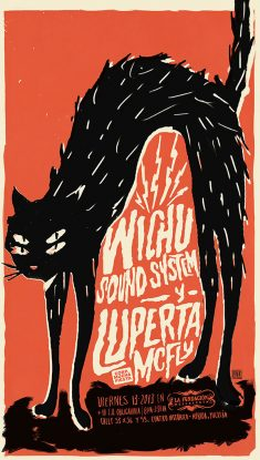 Viernes 13 Gig Poster